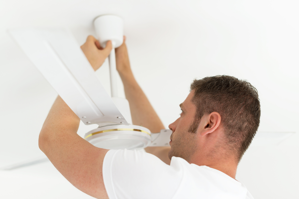Should You Hire An Electrician To Install Your Ceiling Fan?